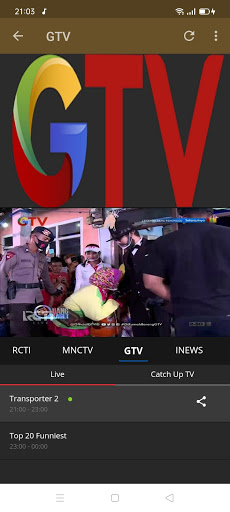 Streaming TV & radio lokal screenshot 15