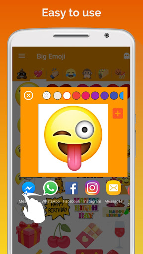 Big Emoji screenshot 3