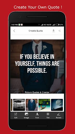 Picture Quotes and Creator screenshot 1