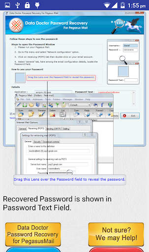 Email Password Recovery Help screenshot 6