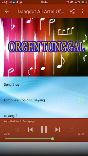 Dangdut Song screenshot 6