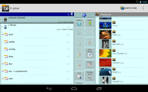 X-plore File Manager screenshot 12