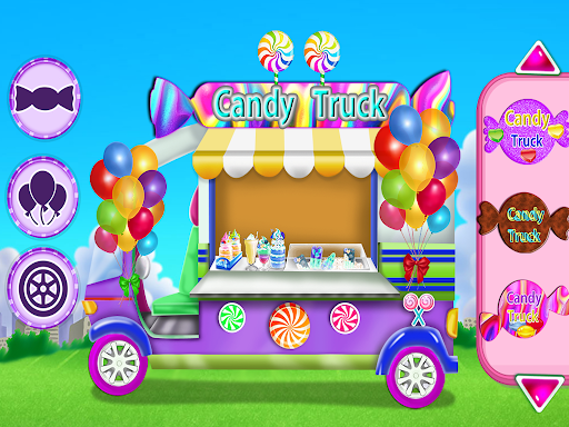 Candy Girl Salon Makeover - Candy Cooking Game screenshot 3