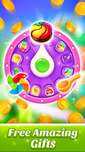Cookie World -- Clash of Cookie & Colorful Puzzle screenshot 5