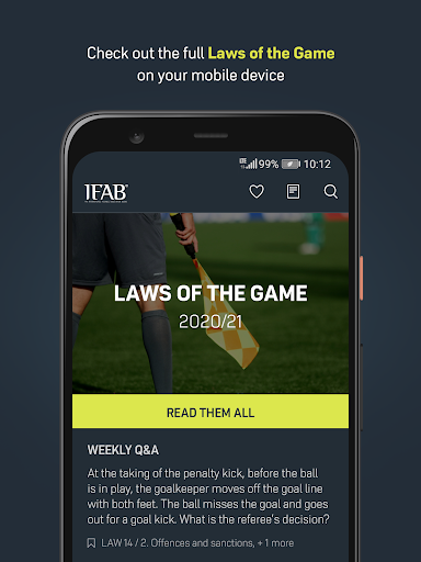 Laws of the Game screenshot 1