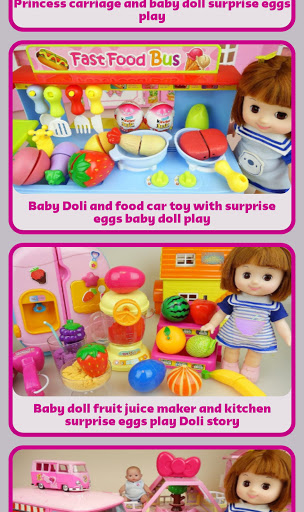 Baby Doll and Toys Video screenshot 3