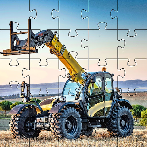 Jigsaw Puzzles Tractor New Holland Games Free 🧩🚜 screenshot 8