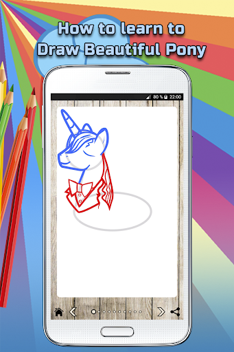 How to draw a Beautiful Pony screenshot 4