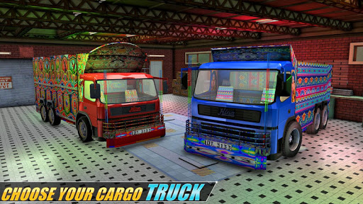 Indian Real Cargo Truck Driver -New Truck Games 21 screenshot 13