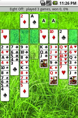 Patience Revisited Solitaire screenshot 1