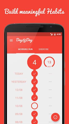 Day by Day • Track & Build Habits, Routines, Goals screenshot 1