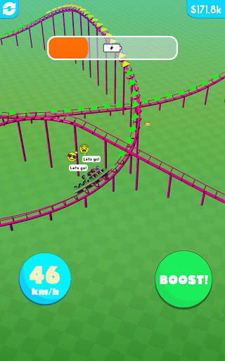 Hyper Roller Coaster screenshot 12
