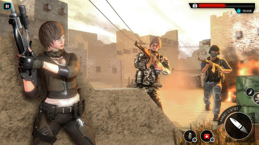 Cover Strike Fire Gun Game: Offline Shooting Games screenshot 2
