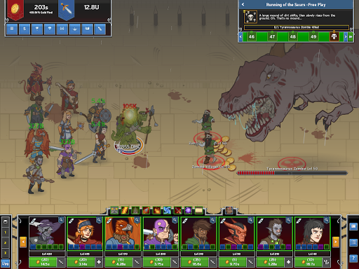 Idle Champions of the Forgotten Realms screenshot 2