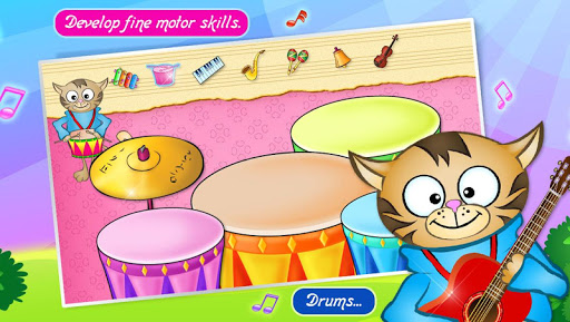 123 Kids Fun Music Games Free screenshot 2
