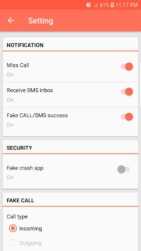 Fake Call and Sms screenshot 3