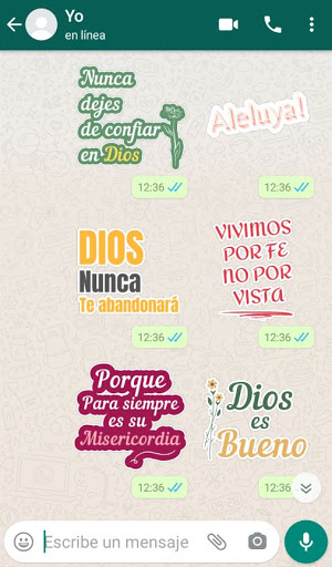 Stickers Cristianos screenshot 2