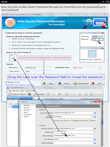 Email Password Recovery Help screenshot 16