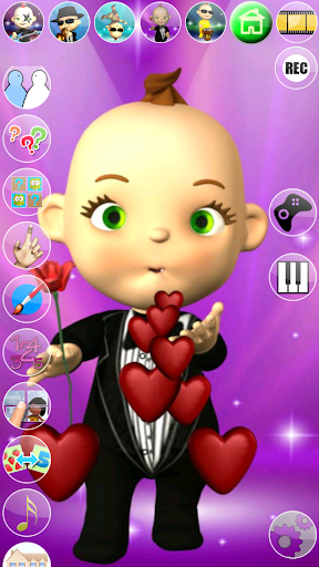 My Talking Baby Music Star screenshot 1
