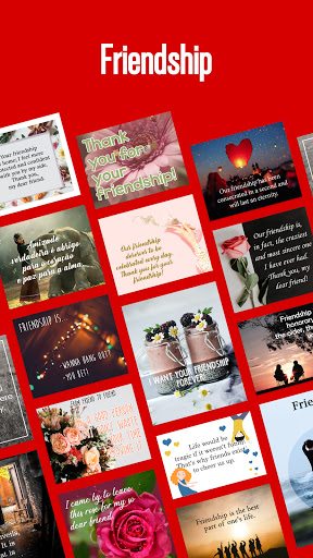 Inspirational quotes, birthday cards and wishes screenshot 7