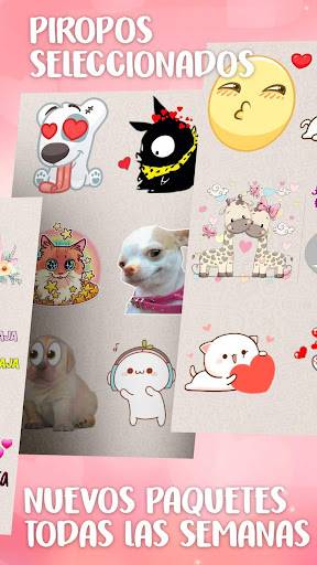 Stickers de amor para WhatsApp en español 💕 screenshot 2