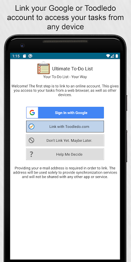 Ultimate To-Do List screenshot 1
