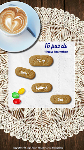 15 puzzle screenshot 1