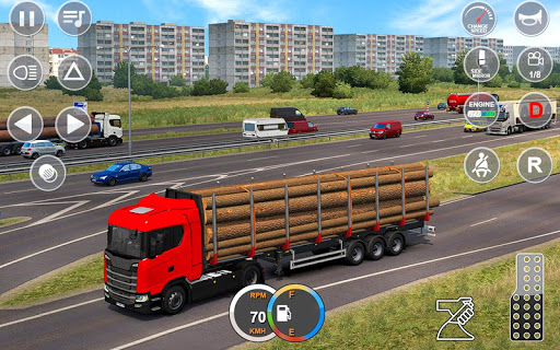 Indian Mountain Heavy Cargo Truck screenshot 2