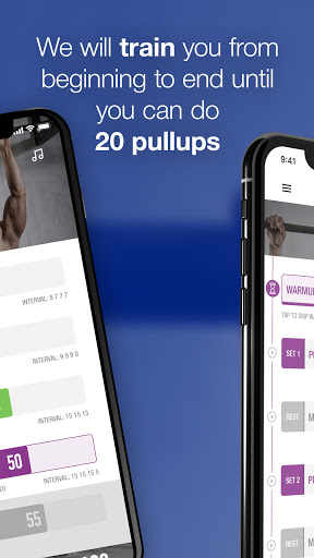 0-20 Pullups Back Trainer screenshot 2