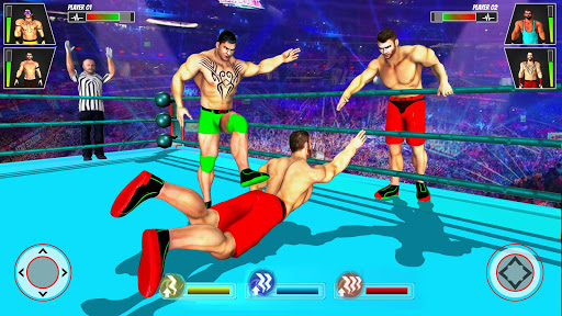 Real Ring Fight Wrestling Championship Games 2020 screenshot 2