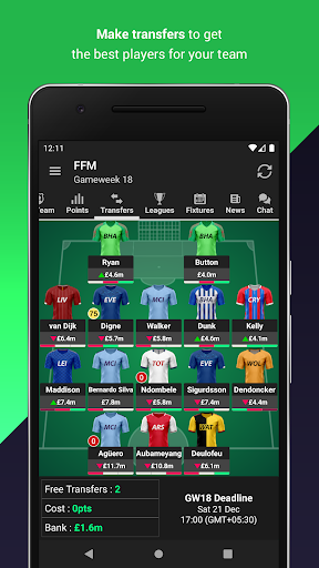(FPL) Fantasy Football Manager for Premier League screenshot 7