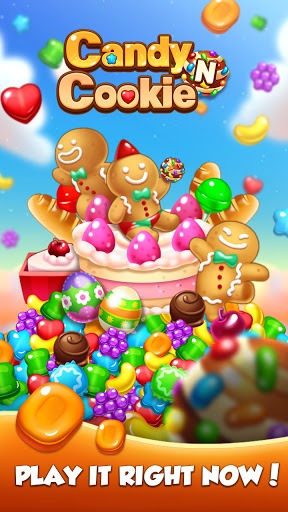 Candy N Cookie : Match3 Puzzle screenshot 1