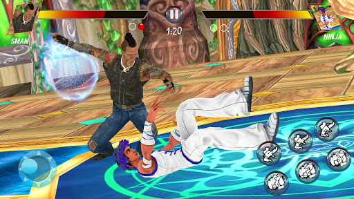 Ultimate battle fighting games 2021 屏幕截图 12