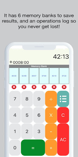 Hours and Minutes Calculator screenshot 4