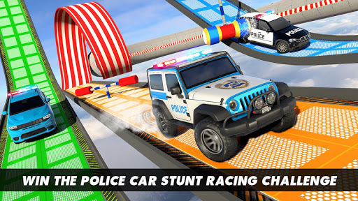 Police Prado Car Stunt Games screenshot 4