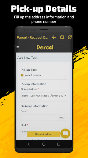 Parcel screenshot 2