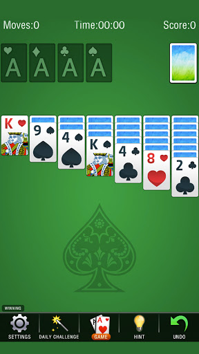 Solitaire Classic - solitaire card games free screenshot 1
