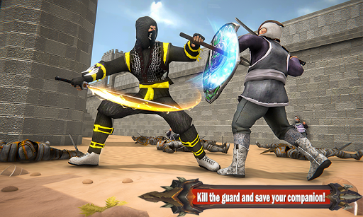 Superhero Ninja Arashi with Samurai Assassin Hero screenshot 2