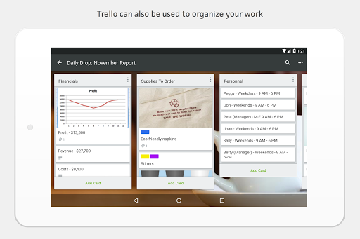 Trello screenshot 16