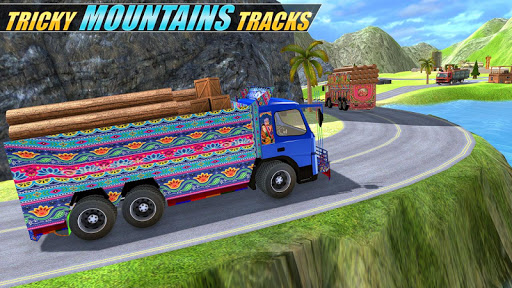 Indian Real Cargo Truck Driver -New Truck Games 21 screenshot 16