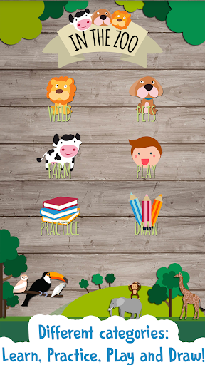 Kids Zoo Game: Educational games for toddlers screenshot 1