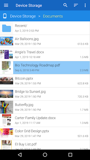 File Viewer for Android screenshot 1