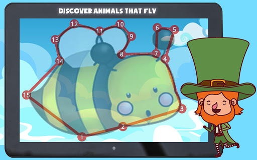 Connect the Dots - Animals screenshot 12