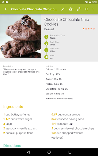 Cookmate (formerly My CookBook) screenshot 10