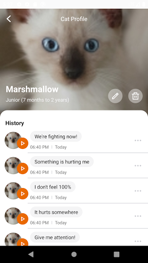 MeowTalk Beta screenshot 2