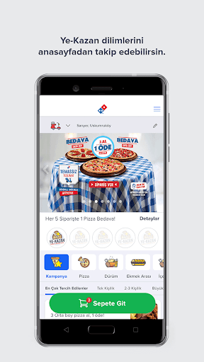 Domino's Pizza Türkiye screenshot 3