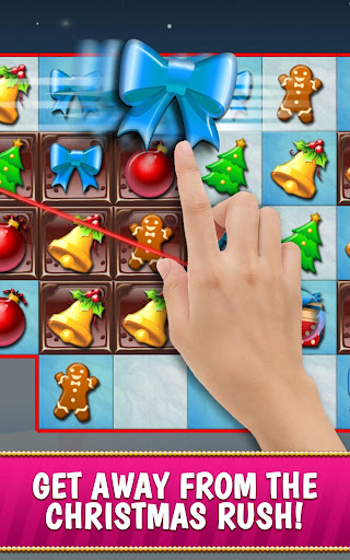 Christmas Crush Holiday Swapper Candy Match 3 Game screenshot 1