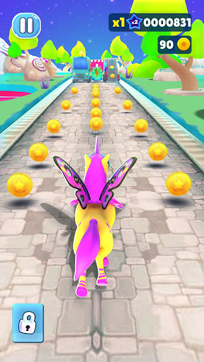 Magical Pony Run screenshot 3