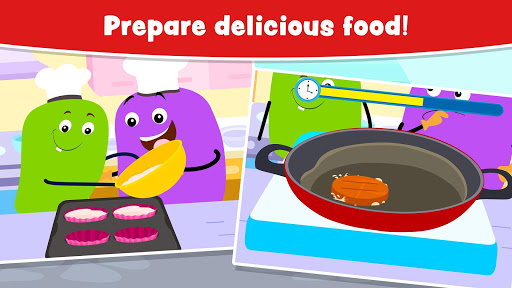Cooking Games for Kids and Toddlers - Free screenshot 3