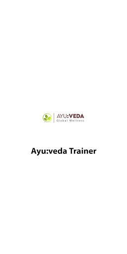 Ayu:veda Trainer screenshot 1